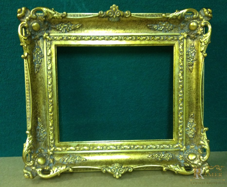 Рамка для зеркала из багета своими руками 586